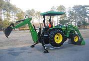 2004 John Deere 4710 TLB 4WD Many Attachments = $3, 4OO US =