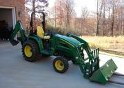 $3, 400 US - 2004 John Deere 4310 w/ Loader,  Backhoe and more