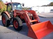 2008 Kubota M9540 CAB 95HP 4WD LA1353 Loader,  377 Hrs