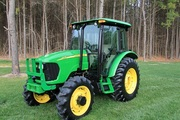 Only $11, 300 US = 2005 John Deere 5525 MFWD CAB AC 91HP