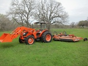 2006 Kubota M9540DT 4WD Loader / Mower = $6, 650 US =