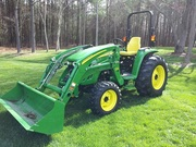 2005 John Deere 4720 E-Hydro 58HP NEW 400X Loader