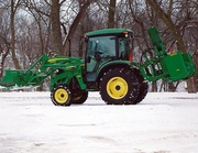 2010 John Deere 4720 w/ Loader,  Buckets,  Snowblower