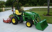 2010 John Deere 2320 Loader,  Mower,  Dump Cart 4WD