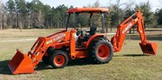 2008 Kubota M59 with Loader and Backhoe