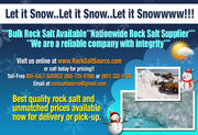 BULK ROCK SALT AVAILABLE!