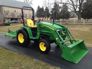 2010 John Deere 3120 4x4 Loader Mower