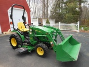 2012 John Deere 2320 4x4 Loader Mower 24HP