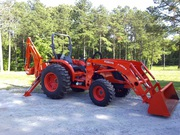 2011 Kubota MX4700 4x4 TLB 47HP 338 hrs