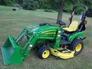 =$4, 000=2007 John Deere 2305 Compact Tractor