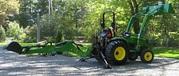 2007 John Deere 3320 4WD w/Loader&Backhoe
